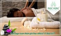 Massage toàn thân giá bao nhiêu