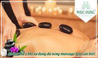 Những lưu ý khi sử dụng đá nóng massage