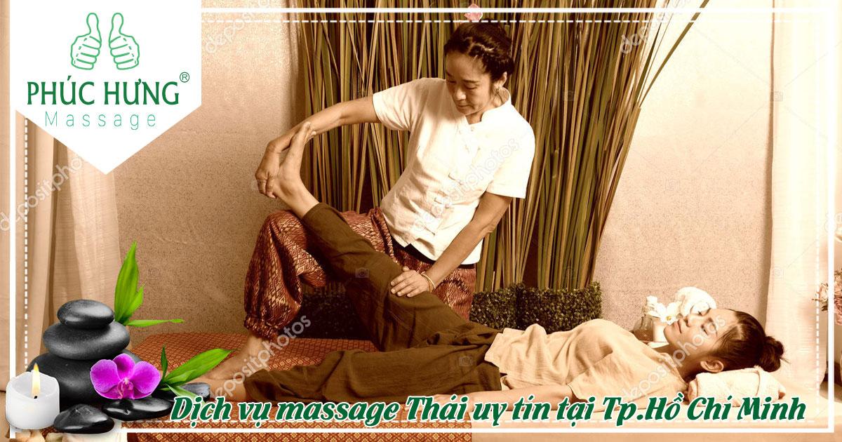 Dịch vụ massage Thái uy tín tại Tp.Hồ Chí Minh