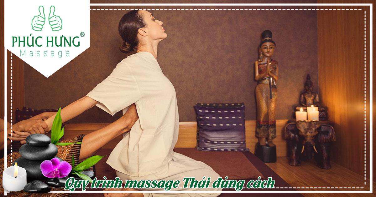 Quy trình massage Thái đúng cách