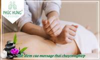 Đặc điểm của massage thái chuyên nghiệp