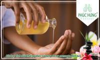 tinh dầu được sử dụng trong massage