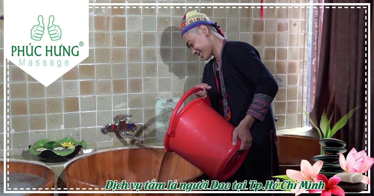 Dịch vụ tắm lá người Dao tại Tp.Hồ Chí Minh