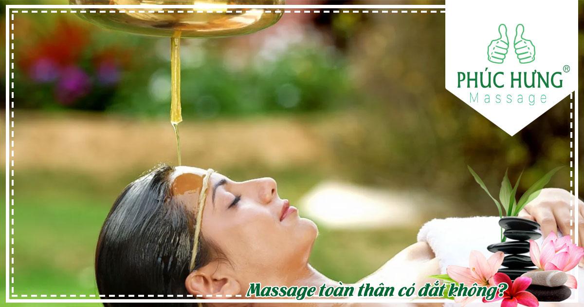 Massage toàn thân có đắt không?