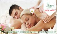 Sự khác nhau cơ bản giữa massage nam và massage nữ