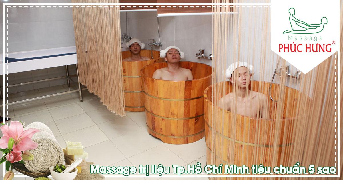 Massage trị liệu Tp.Hồ Chí Minh tiêu chuẩn 5 sao