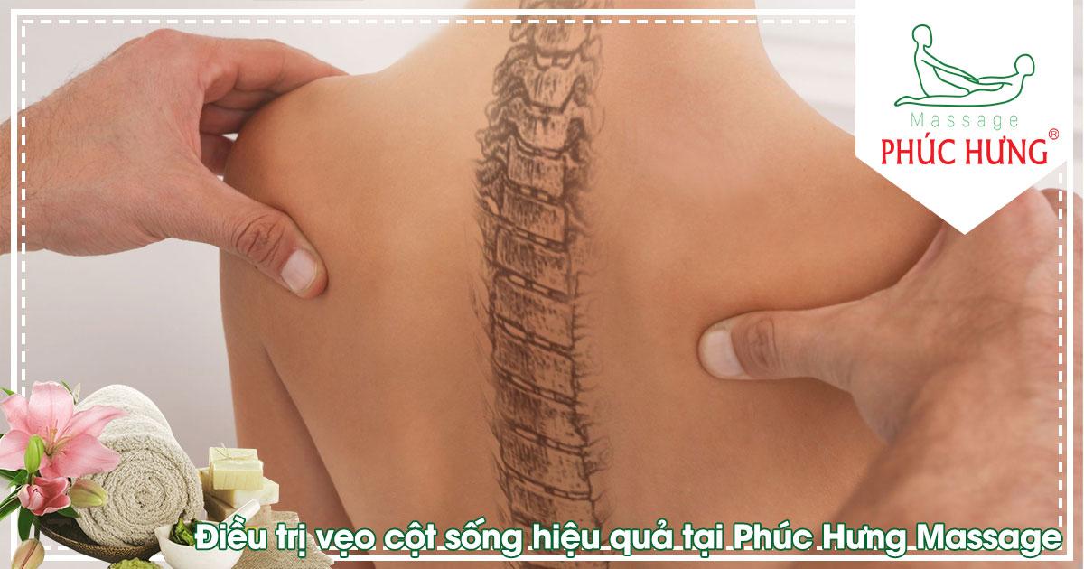 Điều trị vẹo cột sống hiệu quả tại Phúc Hưng Massage