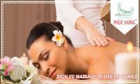 Dịch vụ massage trị liệu tại Quận 2