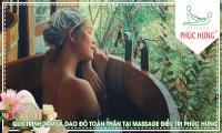 Quy trình tắm lá Dao Đỏ toàn thân tại Massage điều trị Phúc Hưng