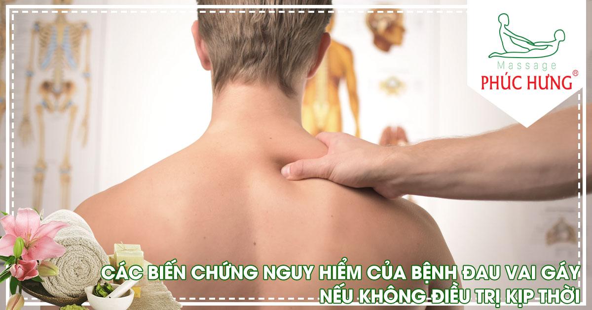 Các biến chứng nguy hiểm của bệnh đau vai gáy nếu không điều trị kịp thời