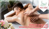 Những suy nghĩ sai lầm về phương pháp massage bấm huyệt